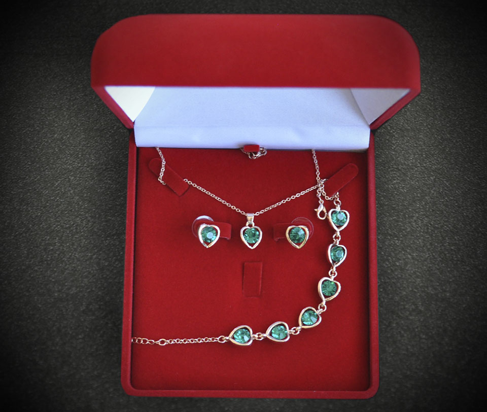 Tiphanie set Fameo Diamonds