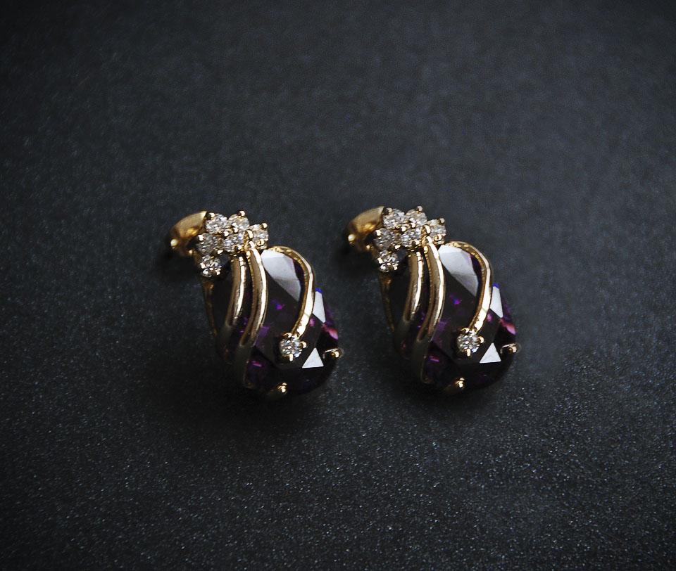 Celeste set Fameo Diamonds